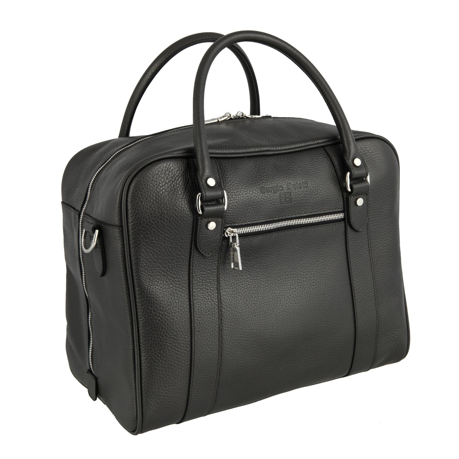 Дорожная сумка Sergio Belotti 8014 Napoli brown 30 x 36 x 21 см.