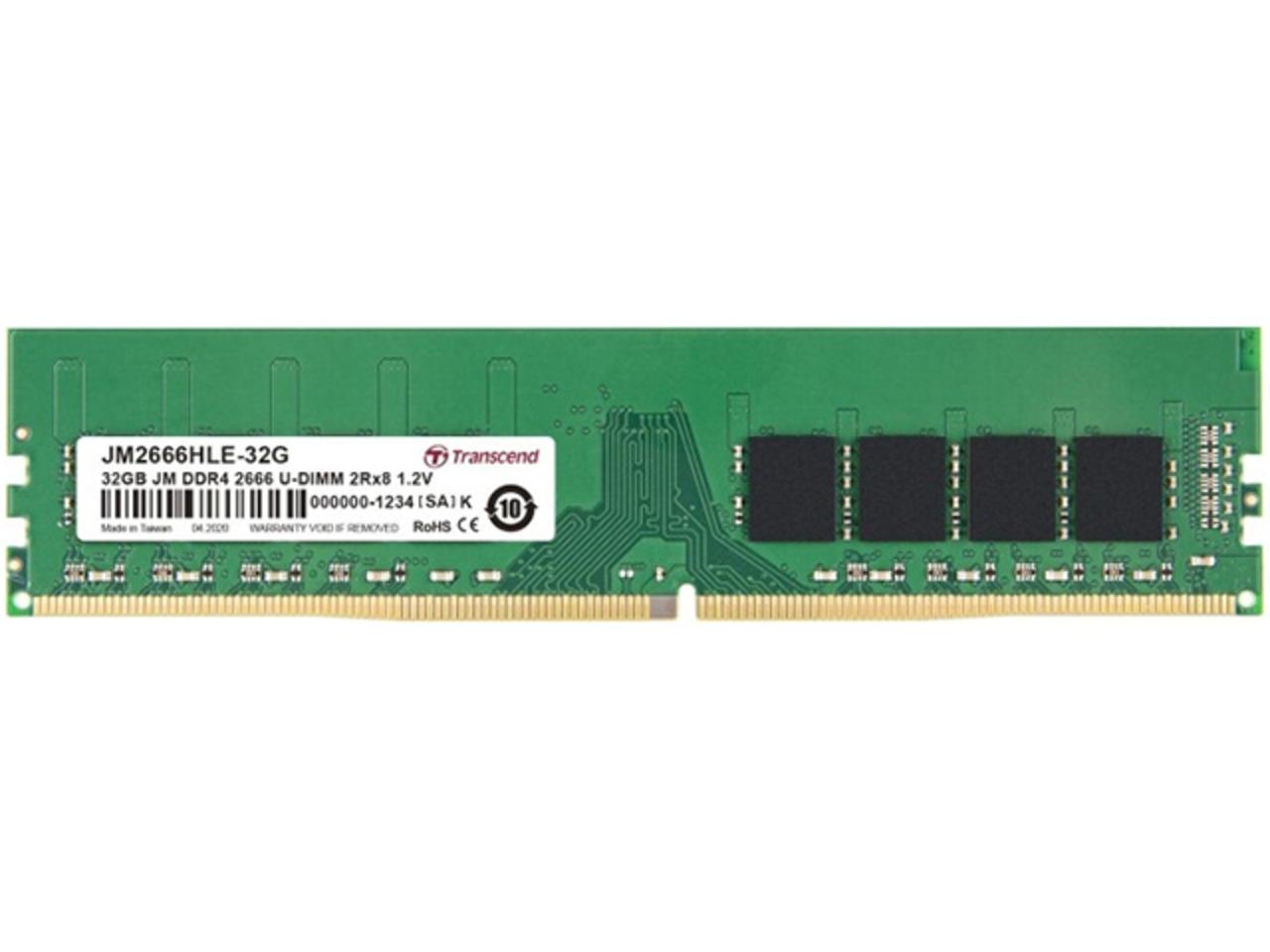 Оперативная память Transcend JetRam (JM2666HLE 32G)