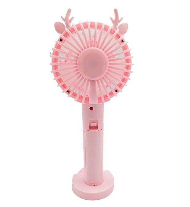Вентилятор с мыльными пузырями 789 34C Pink