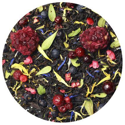 Черный чай Таежный сбор (премиум), 100 г фото