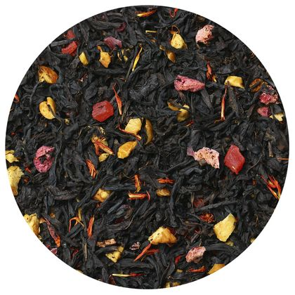 Черный чай Груша Гранат, 100 г фото