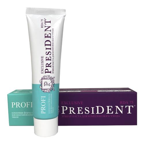 Купить PresiDENT Profi Exclusive Зубная паста 50мл