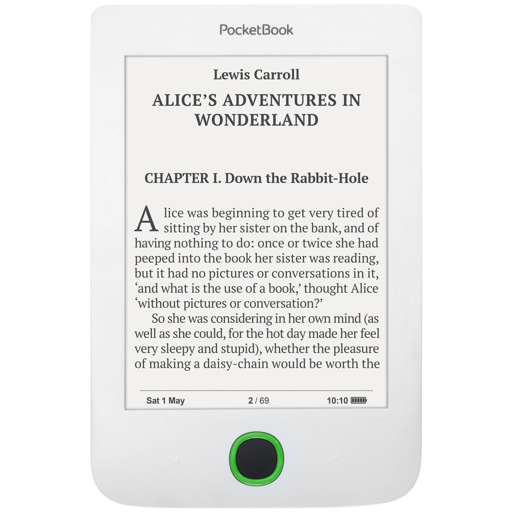 Электронная книга PocketBook 614 Plus White