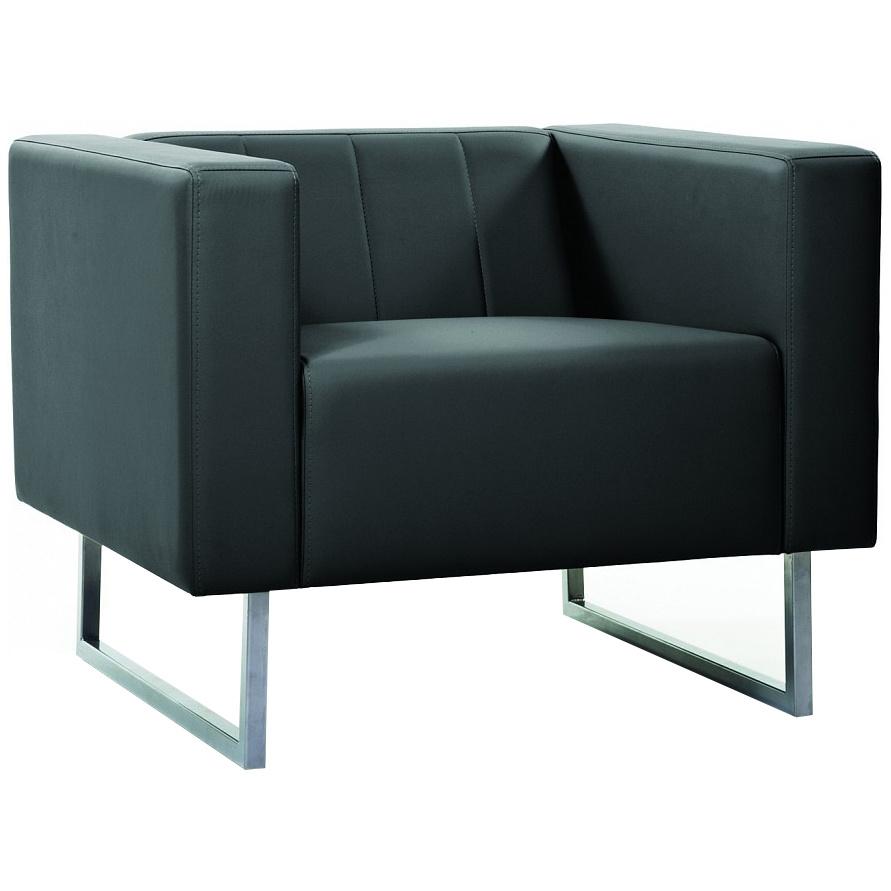 Кресло для гостиной CHAIRMAN Вента CHA_7008800, черный