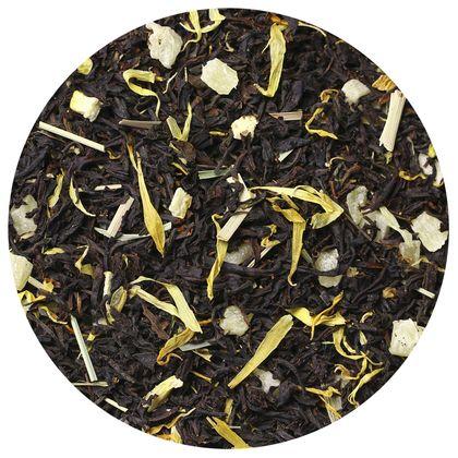 Черный чай Лимонный Блюз, 100 г фото