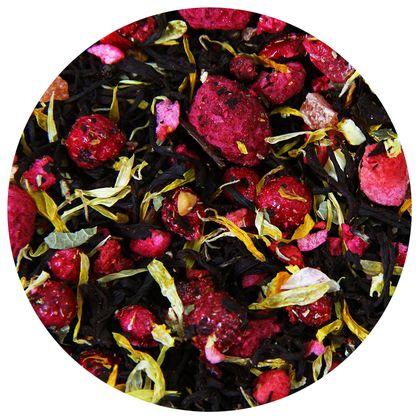 Черный чай Фруктовая Фантазия (премиум), 100 г фото