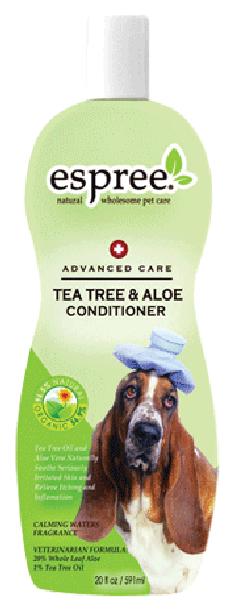 Кондиционер для кошек и собак Espree Advanced Care Tea TreeAloe чайное деревоалоэ 355мл.