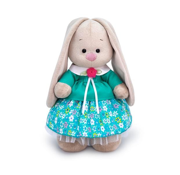 Купить Мягкая игрушка BUDI BASA StM-366 Зайка Ми в бирюзовой курточке 32см, Мягкие игрушки животные