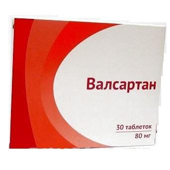 Купить Валсартан таблетки, покрытые оболочкой 80 мг 30 шт., Озон ООО