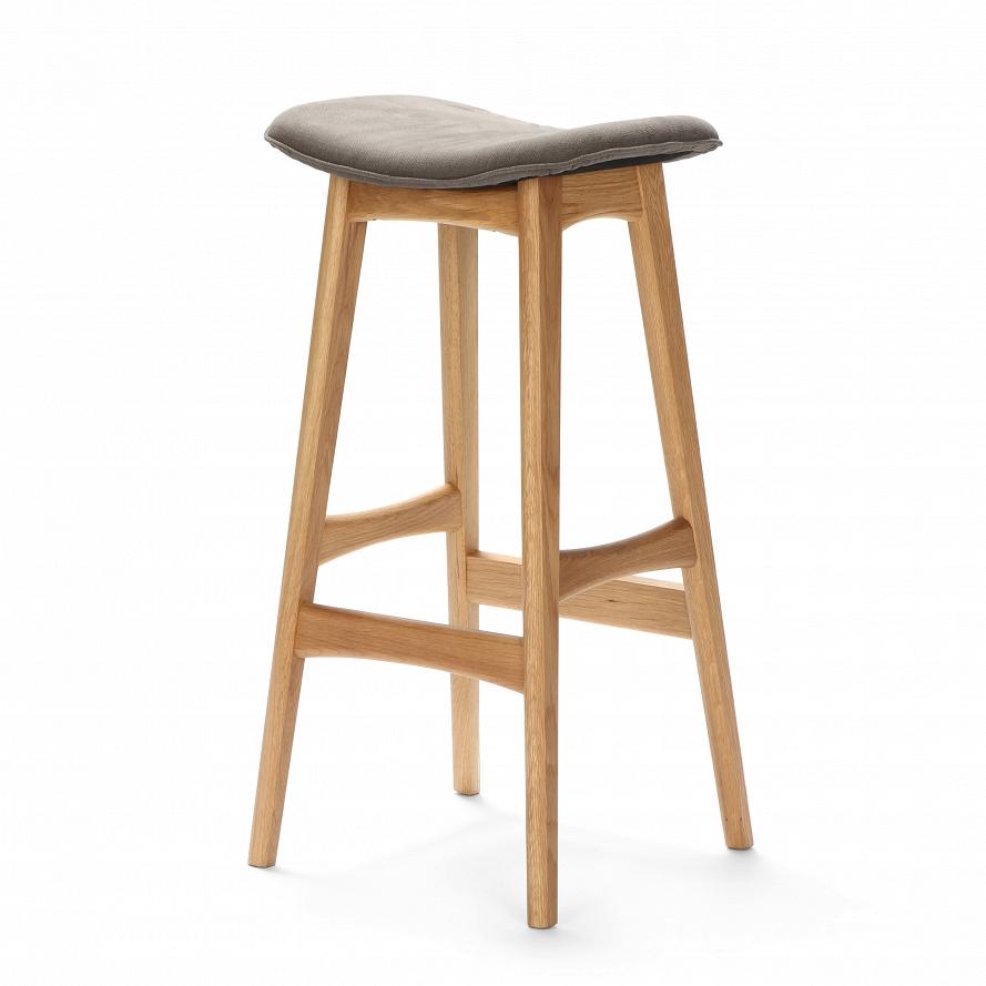 Барный стул Cosmo Allegra 77 BS7280B, дуб/темно