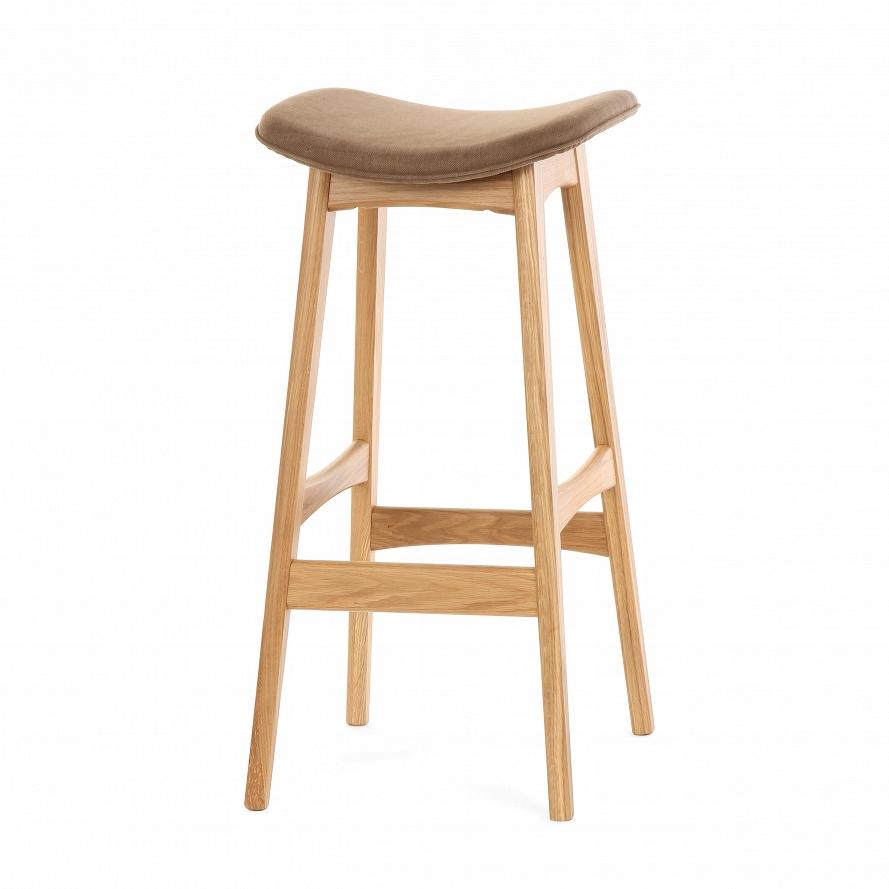 Барный стул Cosmo Allegra 77 76752, дуб/коричневый