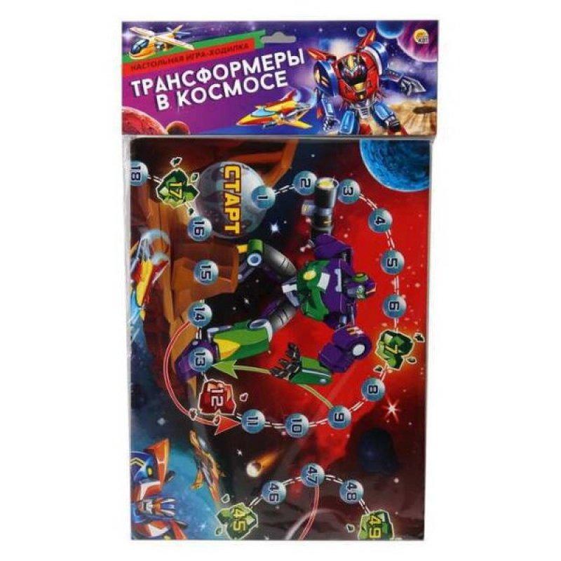 Купить Игра настольная Рыжий Кот Макси-игры Трансформеры в космосе, Рыжий кот, Семейные настольные игры