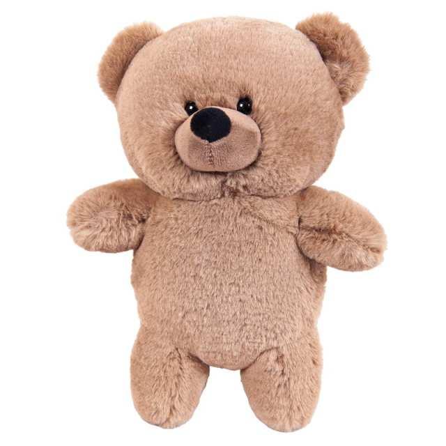 Купить Мягкая игрушка Abtoys Флэтси. Медведь коричневый серый, 27см,