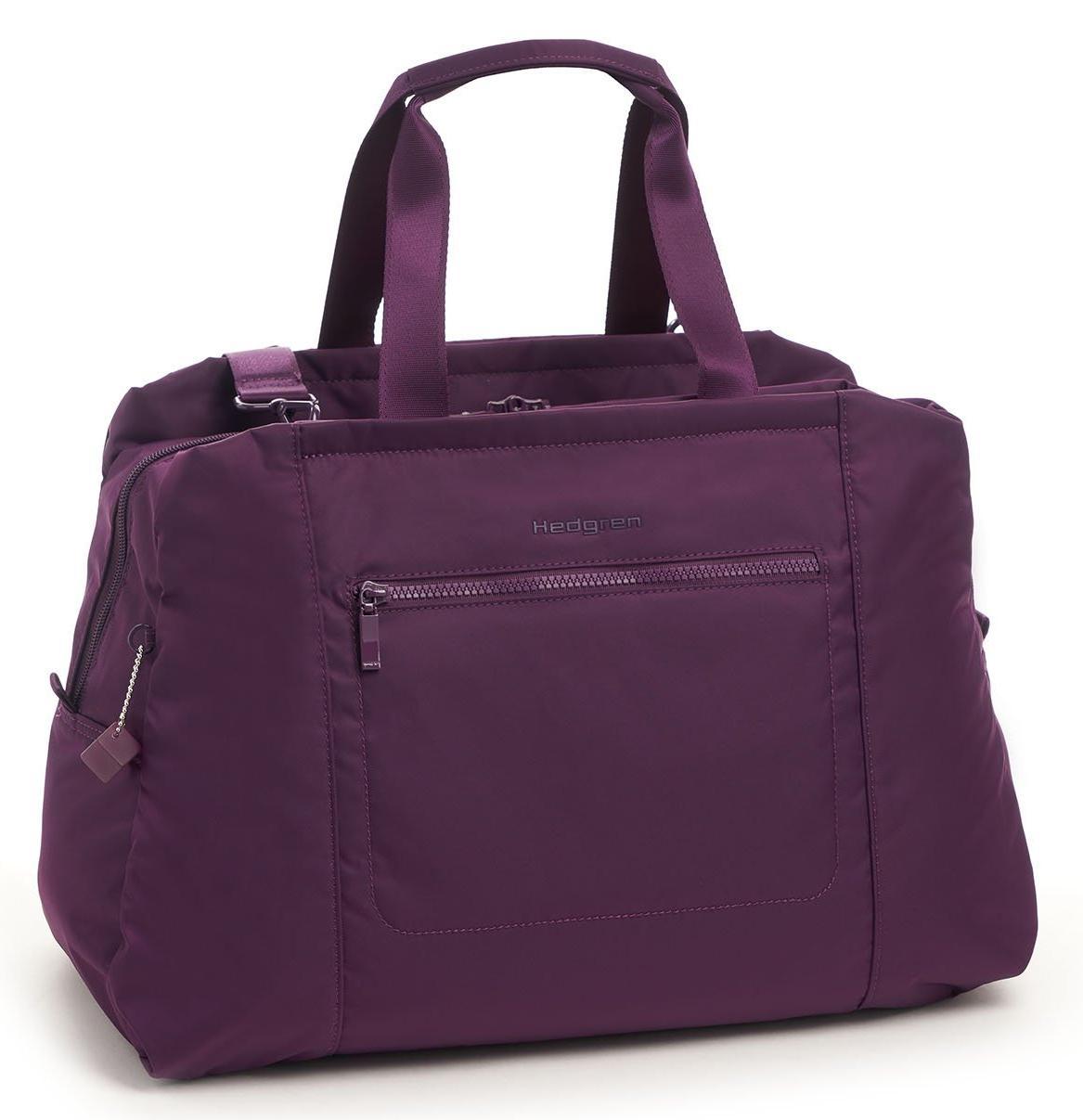 Дорожная сумка Hedgren Inter-City Duffle Bag Stroll RFID purple passion 30 x 45 x 17,5 см фото