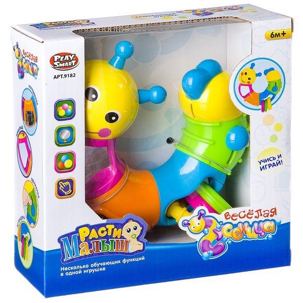 Развивающая игрушка Play Smart Веселая гусеница