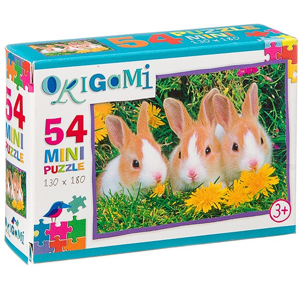 Купить Пазл-мини Astrel Мир животных, 54 элемента, в ассортименте, Пазлы