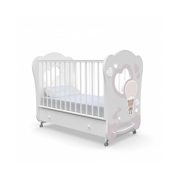 Детская кровать Nuovita Cute Bear swing