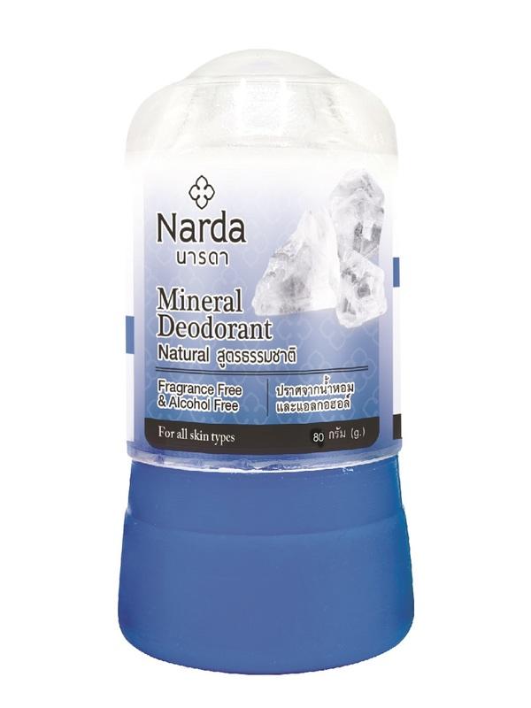 Дезодорант NARDA кристаллический натуральный 80 гр