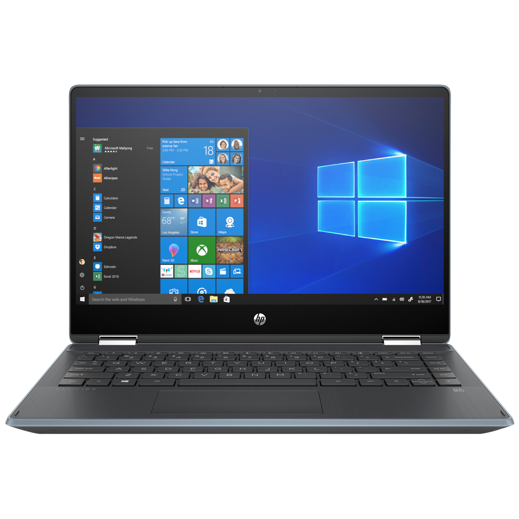 HP PAVILION X360 14-DH0015UR 7DR28EA