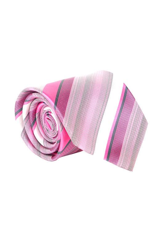 Галстук мужской Olymp 7600 розовый