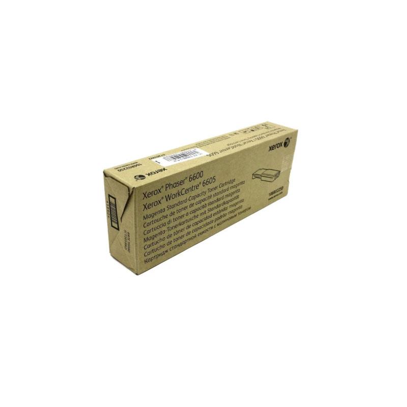 Картридж для лазерного принтера Xerox 106R02250 пурпурный, оригинал