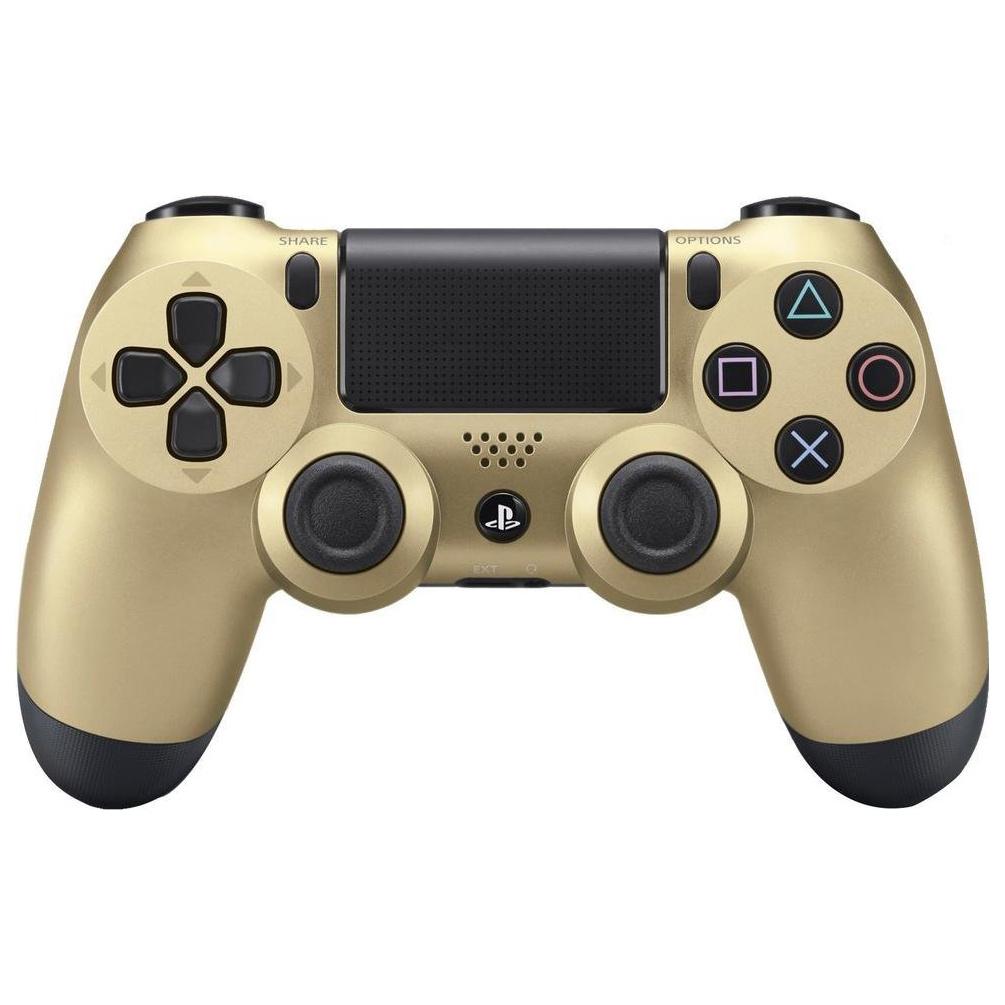 Геймпад Sony PlayStation Dualshock 4 v2 CUH-ZCT2E Gold dualShock 4 v2 Gold