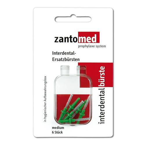 Сменные щеточки Zantomed Interdental Brush Medium средние