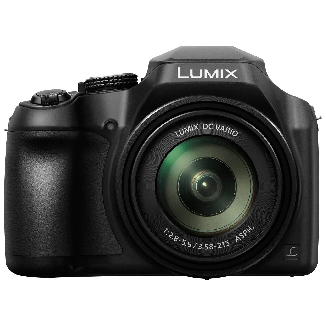 Фотоаппарат цифровой компактный Panasonic LUMIX DC-FZ82EE-K Black фото