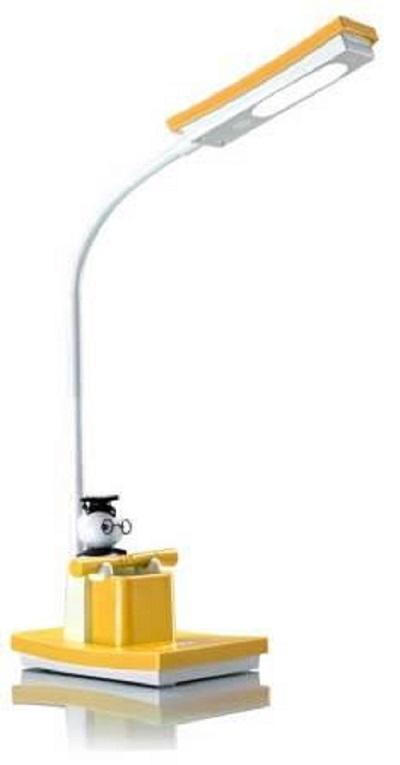 Светильник настольный SL-TL321 15LED 5Вт 4100K сенсорный, желтый SUPRA 43245