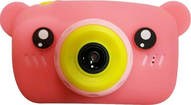 Купить Детский фотоаппарат Smart Kids Camera Bear розовый, NoBrand,