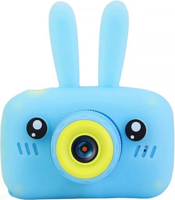 Купить Детский фотоаппарат Smart Kids Camera Bunny голубой, NoBrand,
