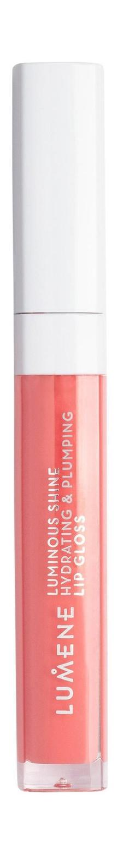 Купить Блеск для губ Lumene Luminious Shine Hydrating &Plumping Lip Gloss 9 Peach pink 5 мл