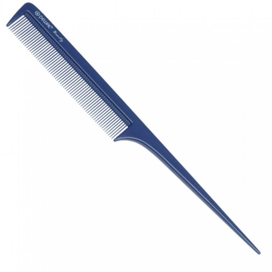 Купить Расческа Dewal Beauty с пластиковым хвостиком, синяя, 20, 5 см