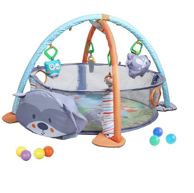 Купить Развивающий коврик Konig Kids Енотик 3 в 1, Развивающие коврики для детей