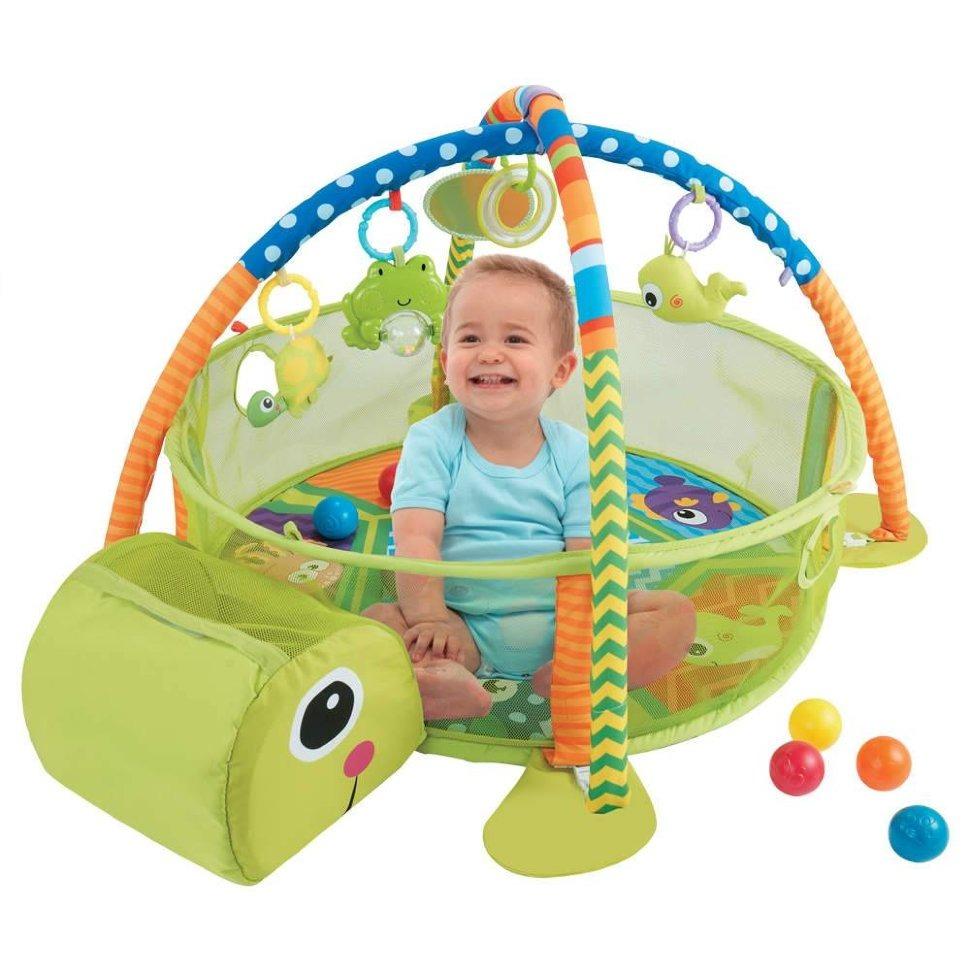 Купить Развивающий коврик Konig Kids Тортилла 3 в 1, Развивающие коврики для детей