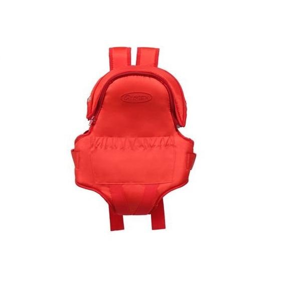 Рюкзак кенгуру Globex Панда красный