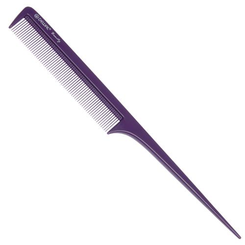 Купить Расческа Dewal Beauty с пластиковым хвостиком, фиолетовая, 20, 5 см