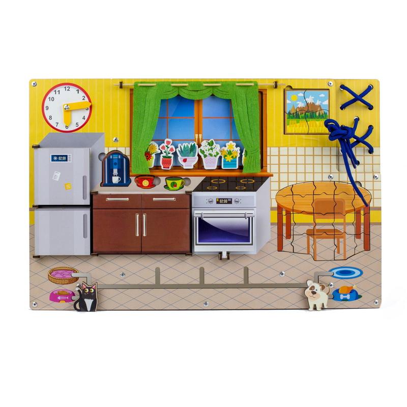 Купить Бизиборд WOODLAND 112301 Кухня,