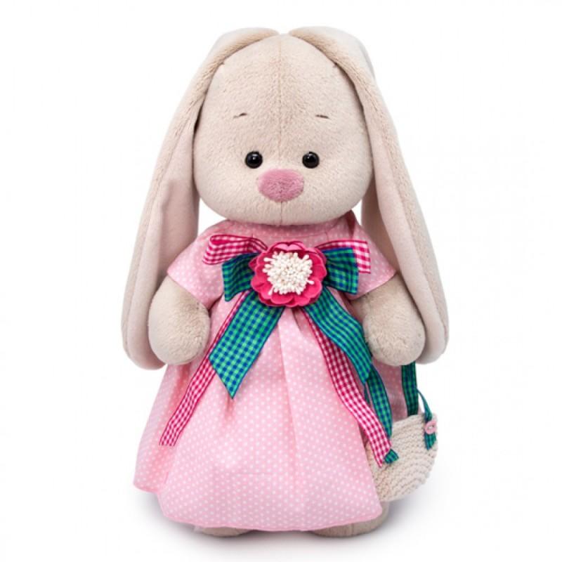 Купить Мягкая игрушка BUDI BASA Зайка Ми Розовая дымка малый, Мягкие игрушки животные