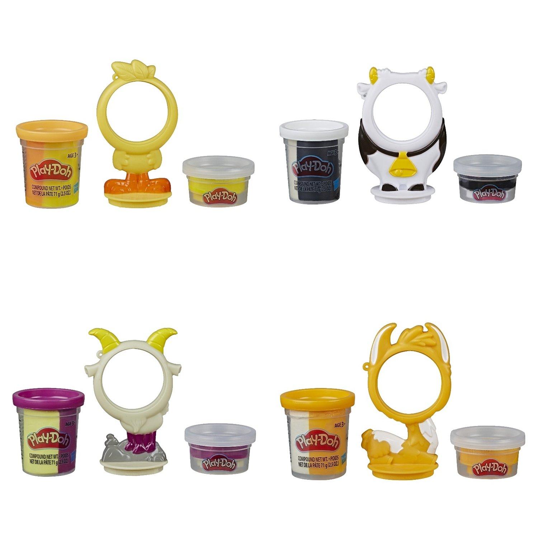 Купить Игровой набор Hasbro PLAY-DOH Жители фермы, Наборы для лепки Play-Doh