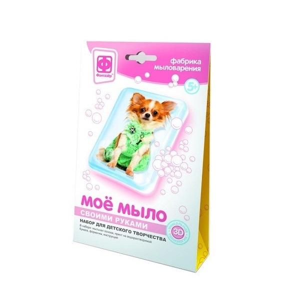 Купить Набор Фантазёр Моё мыло №2 Собака в зеленом, Фантазер, Рукоделие