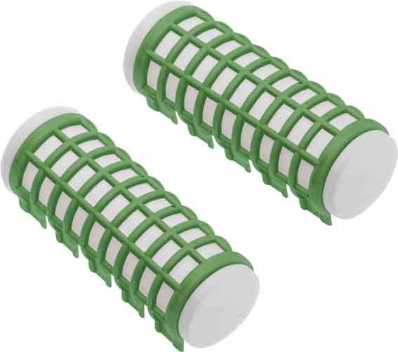 Купить Набор бигуди термо Dewal Beauty диаметр 23 мм, длина 68 мм (6 штук) зеленые