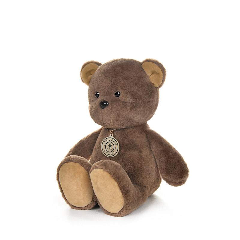 Купить Мягкая игрушка Fluffy Heart Медвежонок Fluffy Heart, 25 см,