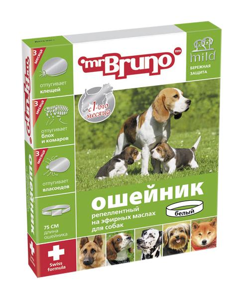 Ошейник для собак против паразитов Mr.Bruno Mild