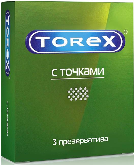 Купить Презервативы с точками TOREX, 3 шт