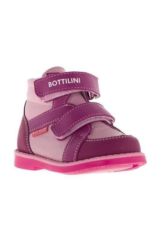 Купить BO-183 (4)Б РОЗОВЫЙ, Ботинки BOTTILINI BO-183 (4)Б р.23,
