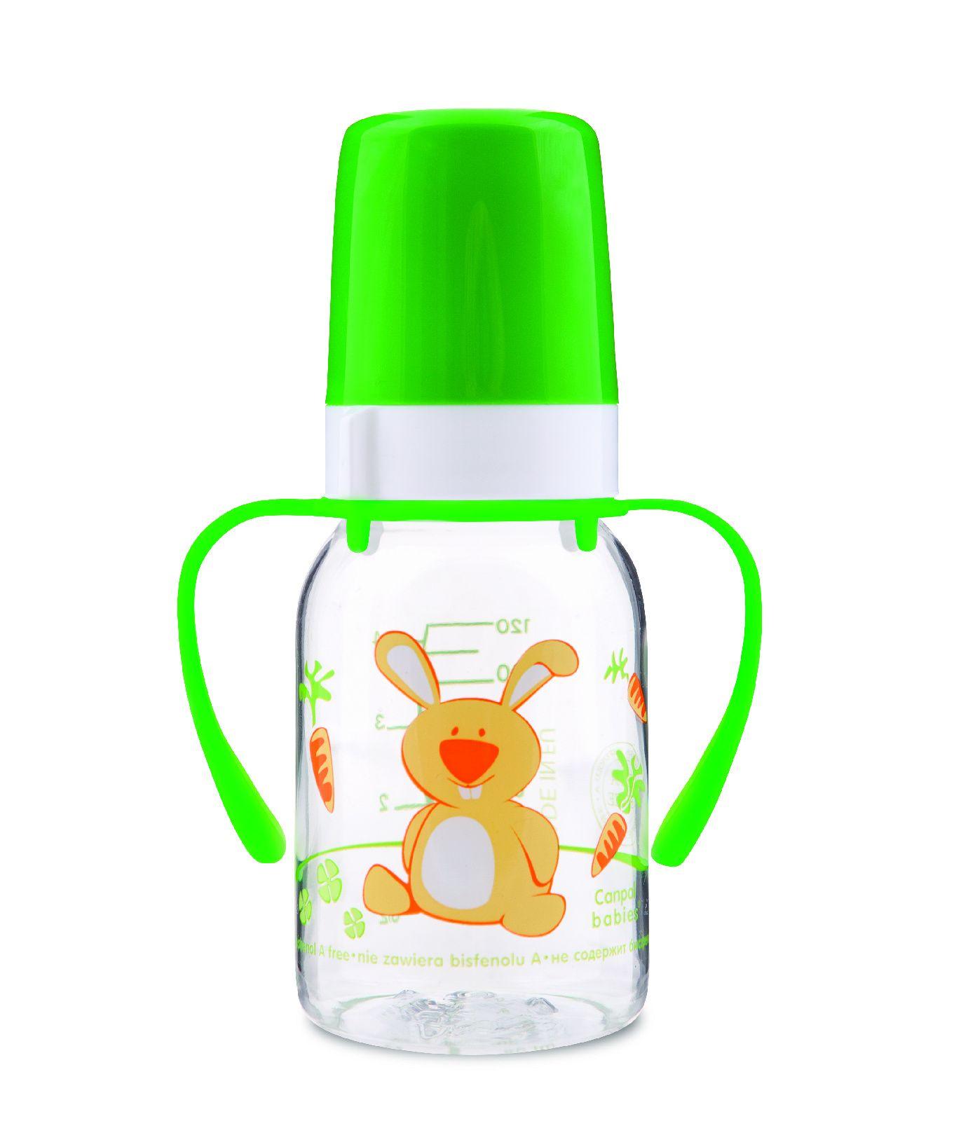 Бутылочка Canpol Cheerful animals с соской