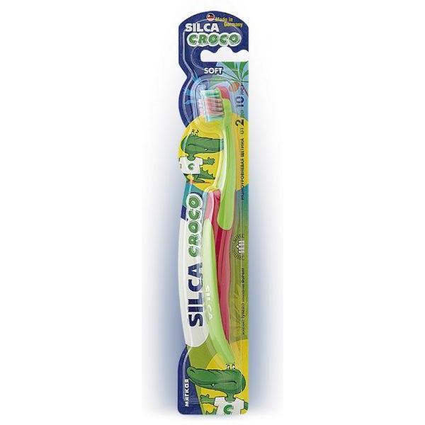 Зубная щетка SILCAMED CROCO  (2