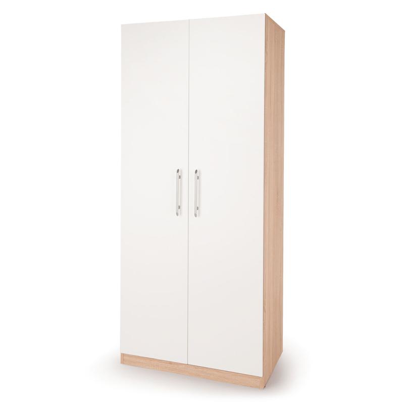Шкаф для одежды Шарм-Дизайн Шарм 90х60 Дуб Сонома и Белый фото
