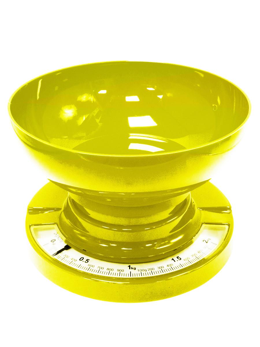 Весы кухонные Arte Nuevo KS 016 Yellow